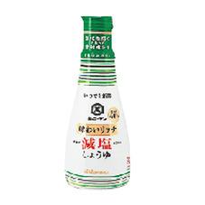 いつでも新鮮 味わいリッチ減塩しょうゆ 168円(税抜)