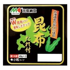 元気納豆昆布たれ付 78円(税抜)
