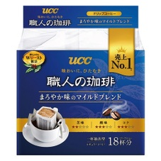 職人の珈琲 ドリップまろやか味のマイルドブレンド 275円(税抜)