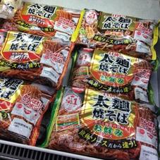 太麺焼そば (濃厚甘口ソース ちゃんぽ風) 138円(税抜)