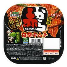 赤から監修 甘辛キムチ 158円(税抜)