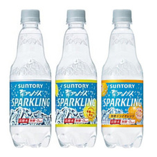天然水 スパークリング各種 67円(税抜)