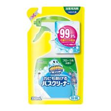 スクラビングバブル カビも防げるバスクリーナーフローラル詰替 77円(税抜)