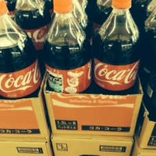 コカ・コーラ1.5L 118円(税抜)