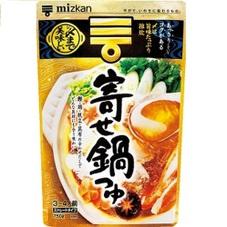 〆まで美味しい 寄せ鍋つゆ 258円(税抜)