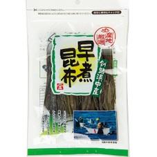 産地厳選 釧路浜中産 早煮昆布 298円(税抜)