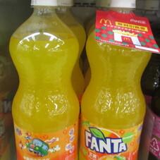 ファンタ オレンジ 148円(税抜)