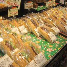 ドッグパン100円セール 100円(税抜)