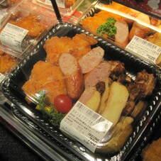 チキン&フランクセット 780円(税抜)