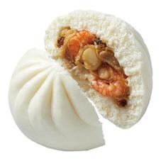 贅沢海鮮肉まん(フカヒレ入り) 280円