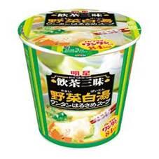 明星 飲茶三昧 野菜白湯 ワンタンはるさめスープ 5ポイントプレゼント