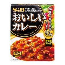 SB おいしいカレー 辛口 5ポイントプレゼント