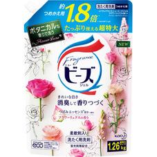フレグランスニュービーズジェル フラワーリュクスの香り 詰替 超特大 307円(税抜)