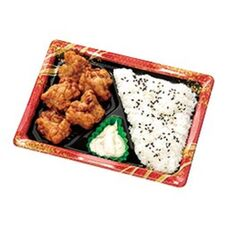 タルタルで食べる 南蛮唐揚弁当 378円