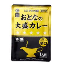 おとなの大盛りカレー 辛口 284円(税抜)