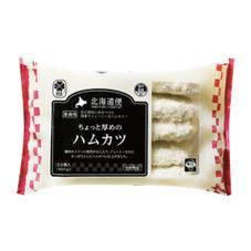 北海道ちょっと厚めのハムカツ 317円(税抜)
