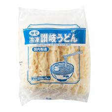 ゆで 冷凍讃岐うどん 157円(税抜)