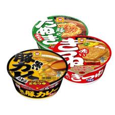 マルちゃん カップ麺 各種 87円(税抜)