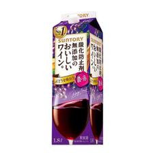酸化防止剤無添加のワイン 濃い赤 797円(税抜)