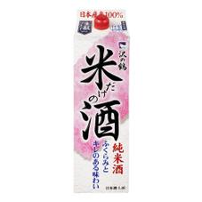 丹頂米だけの酒パック 997円(税抜)