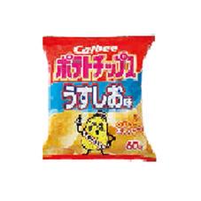 ポテトチップス各種 68円(税抜)
