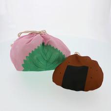 巾着袋2P(桜餅・せんべい) 300円(税抜)