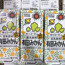 豆乳飲料 有田みかん 49円(税抜)