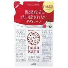 hadakaraボディーソープ詰替 各種<泡タイプ除きます> 298円(税抜)