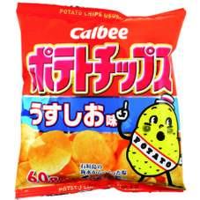 ポテトチップス(うすしお味) 68円(税抜)