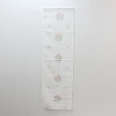 刺繍ミツバチフラワーセパレートカーテン 300円(税抜)