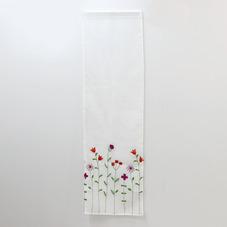 刺繍フラワーセパレートカーテン 300円(税抜)