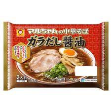 マルちゃんの中華そば ガラだし醤油  2人前 158円(税抜)
