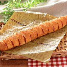 ちぎれるロングハムフランスパン 160円