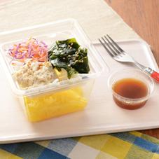 湯葉と鶏ささみのこんにゃく麺サラダ 330円