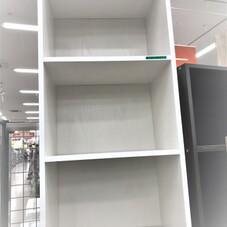 カラーボックス3段 (約)幅42×奥行29.2×高さ89.5cm 1,000円(税抜)