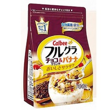 フルグラチョコ&バナナ 555円(税抜)