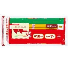 マ・マー 密封チャック付結束スパゲティ 1.6mm 600g 230円(税抜)