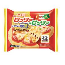 レンジピッツァ&ピッツァ2枚入 278円(税抜)