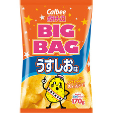 カルビーBIGBAG うすしお味 178円(税抜)