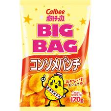 カルビーBIGBAG コンソメパンチ 178円(税抜)