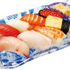 季節の握り詰合せ(活〆寒ぶり) 680円(税抜)