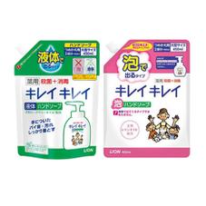 キレイキレイ薬用泡・液体ハンドソープ各種 237円(税抜)