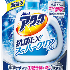 アタック抗菌EXスーパークリアジェル つめかえ用 188円(税抜)