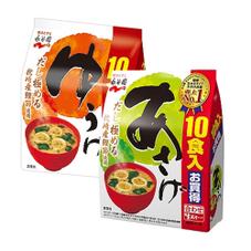 生みそ汁 徳用 あさげ・ゆうげ 157円(税抜)