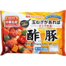 中華名菜 酢豚・八宝菜 198円(税抜)