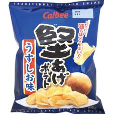 堅あげポテト 各種 78円(税抜)