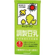 豆乳飲料・調製豆乳・おいしい無調整豆乳 各種 158円(税抜)