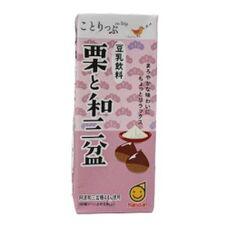 ことりっぷ豆乳飲料 栗と和三盆 88円(税抜)