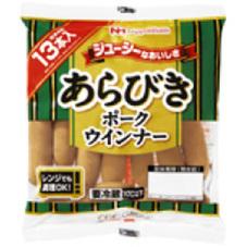 CGCあらびきポークウインナー 248円(税抜)
