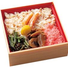 カニ蒸し寿司 598円(税抜)
